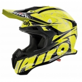 Airoh MX- Carbon Terminator 2.1 Splash Yellow