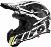 Airoh MX- Carbon Terminator 2.1 Splash Black