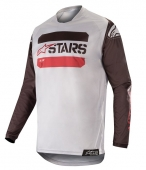 Alpinestars dres Racer Tactical MX19-black gray burgundy