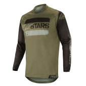 Alpinestars dres Racer Tactical MX19-black military green