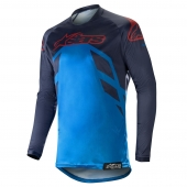 Alpinestars dres Racer Tech Compass MX19-dark navy-mid blue-burg