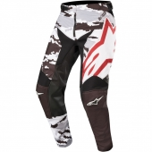 Alpinestars hlače Racer Tactical MX19-black gray burgundy