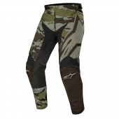Alpinestars hlače Racer Tactical MX19-black military green
