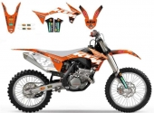 Blackbird Dekor-Accessory Kit Replica Racing Team-KTM