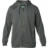 FOX 360 ZIP FLEECE-drk grn