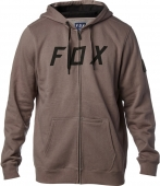 FOX DISTRICT 2 ZIP FLEECE-gry