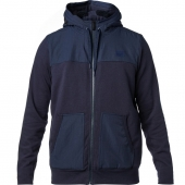 FOX OUTBOUND SHERPA ZIP FLEECE-mdnt