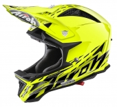 Airoh DH čelada Fighters Trace-fluo rumena