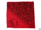 Metal Mulischa Bandana Horrific Red