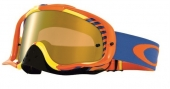Oakley MX očala Crowbar-Biohazard Orange Blue