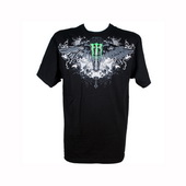 Monster Energy majica Platinum Wings